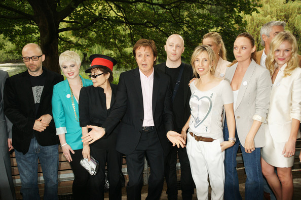 McCartney Family Launch Meat Free Monday - Photocall