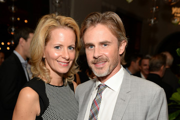 Sam Trammell with cool, Wife Missy Yager