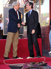 Eric Garcett Sam Waterson Honored On The Hollywood Walk Of Fame