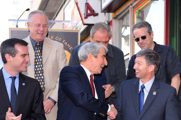 Sam Waterston Dick Wolf Sam Waterson Honored On The Hollywood Walk Of Fame