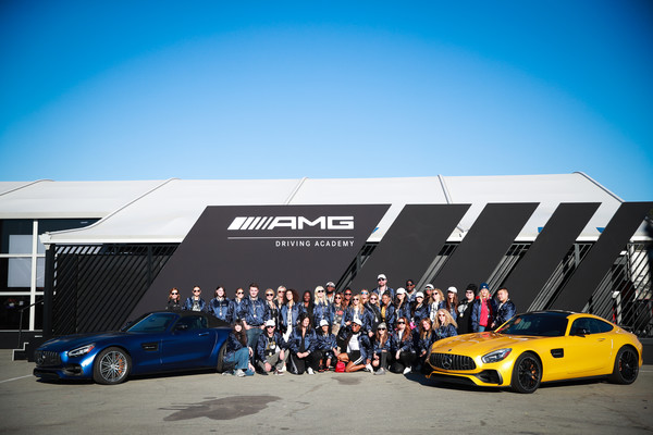 Glamour And Mercedes-Benz AMG Driving Academy Experience At Laguna Seca