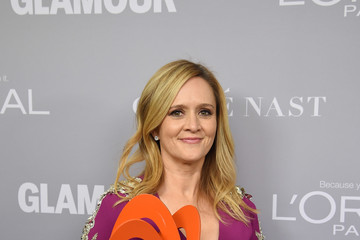 Samantha Bee Glamour Celebrates 2017 Women Of The Year Awards - Backstage