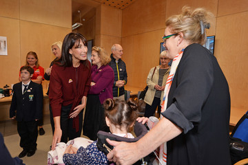 Samantha Cameron Samantha Cameron Attends Ground-Breaking of First Children's Hospice Building in North and Central London