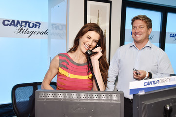 Samantha Harris Annual Charity Day Hosted By Cantor Fitzgerald, BGC and GFI - Cantor Fitzgerald Office - Inside