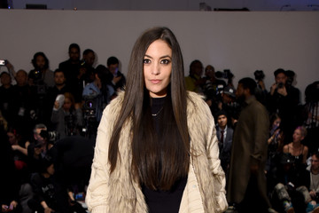 Sammi Giancola Anniesa Hasibuan - Front Row - February 2017 - New York Fashion Week: The Shows