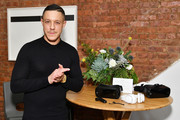 Theo Rossi experiences Samsung Gear VR during a party to celebrate the productÕs two year anniversary on December 11, 2017 in New York City.