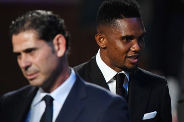 Samuel Eto'o Final Draw for the 2018 FIFA World Cup Russia