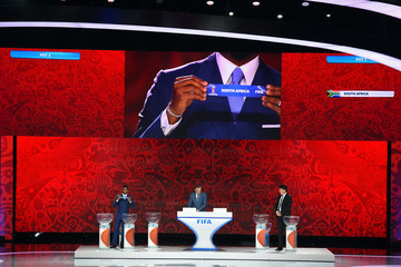 Samuel Eto'o Preliminary Draw of the 2018 FIFA World Cup in Russia