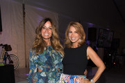 Kelly Bensimon and Jill Zarin attend the Samuel Waxman Cancer Research Foundation 11th Annual A Hamptons Happening  on July 11, 2015 in Southampton, New York.