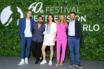 Samy Gharbi Hector Langevin 60th Monte Carlo TV Festival: Day Two