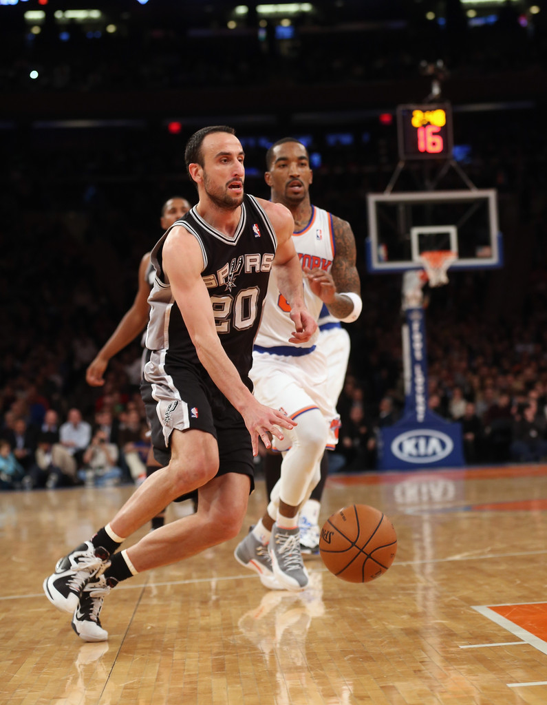 Manu Ginobili Photos Photos San Antonio Spurs V New York