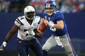 Jacques Cesaire San Diego Chargers v New York Giants