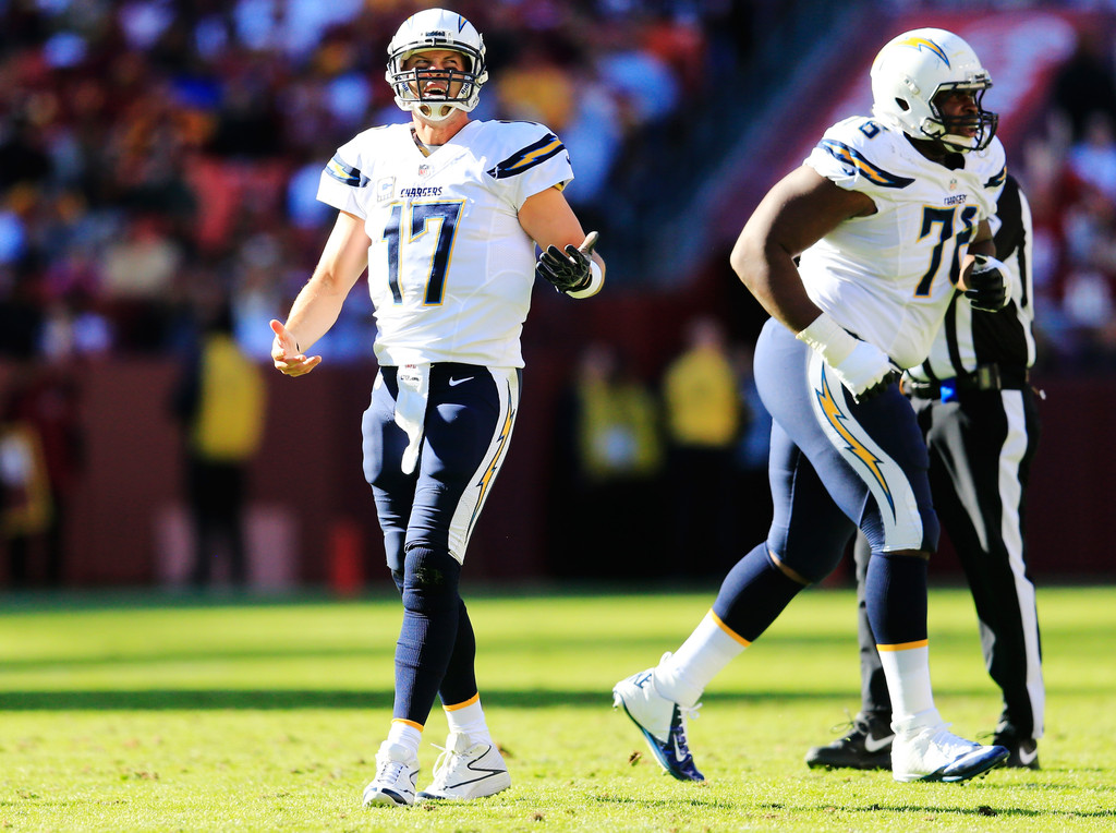 Philip Rivers Pictures San Diego Chargers V Washington