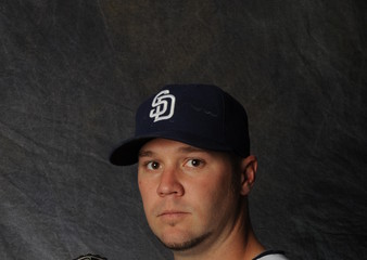 Micah Owings San Diego Padres Photo Day