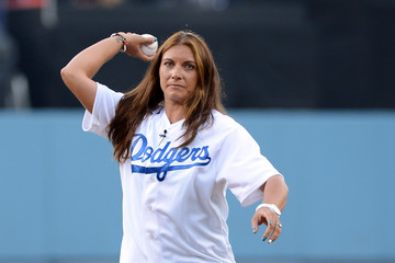 Misty May-Treanor San Diego Padres v Los Angeles Dodgers