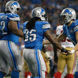 Matthew Stafford and Joique Bell Photos