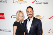 Kristin Chenoweth and Chris Verdugo arrive at The San Francisco Gay Men's Chorus' 41st Season Crescendo Gala Fundraiser at The Fairmont on April 27, 2019 in San Francisco, California.