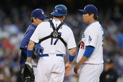 Rick Honeycutt and A.J. Ellis Photos Photo