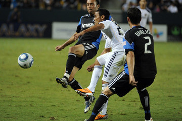Miguel Lopez San Jose Earthquakes v Los Angeles Galaxy