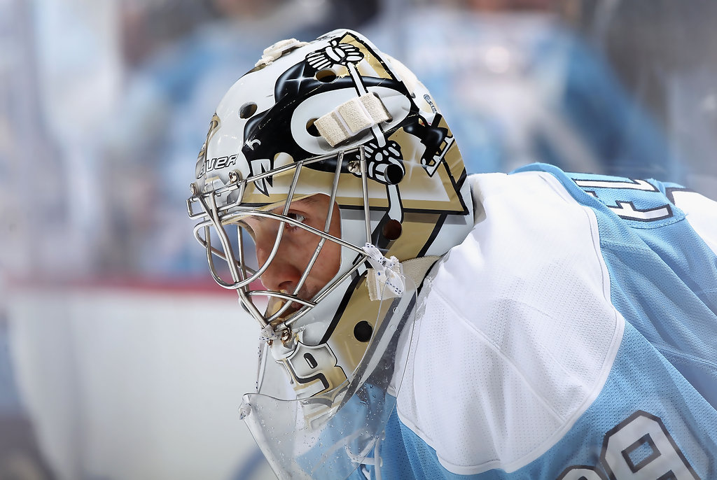 Marc-Andre Fleury in San Jose Sharks v Pittsburgh Penguins ...