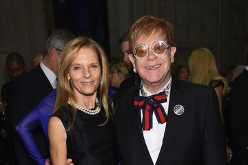 Sandra Brant Elton John AIDS Foundation Commemorates Its 25th Year and Honors Founder Sir Elton John During New York Fall Gala - Inside