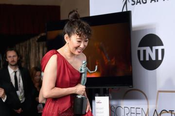 Sandra Oh 25th Annual Screen Actors Guild Awards - Press Room