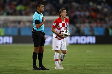 Sandro Ricci Croatia vs. Nigeria: Group D - 2018 FIFA World Cup Russia