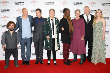 "Sandy Martin ""Three Billboards Outside Ebbing, Missouri"" UK Premiere & Closing Night Gala - 61st BFI London Film Festival"