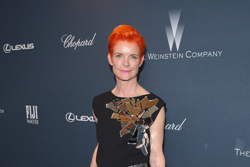 Sandy Powell FIJI Water at the Weinstein Company's Pre-Oscar Dinner