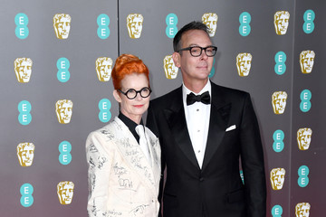 Sandy Powell Christopher Peterson EE British Academy Film Awards 2020 - Red Carpet Arrivals