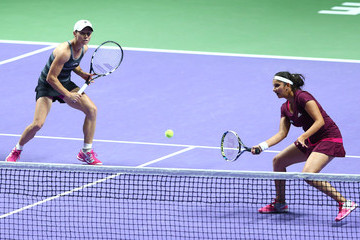 Sania Mirza BNP Paribas WTA Finals: Day 4