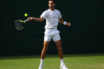 Santiago Giraldo Day One: The Championships - Wimbledon 2016