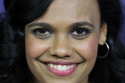 Miranda Tapsell poses on the red carpet at the Sydney Premiere of The Sapphires at State Theatre on August 8, 2012 in Sydney, Australia.
