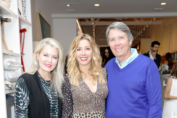 Sara Blakely Serena & Lily and Sara Blakely Celebrate the Launch of The Belly Art Project Benefiting Every Mother Counts