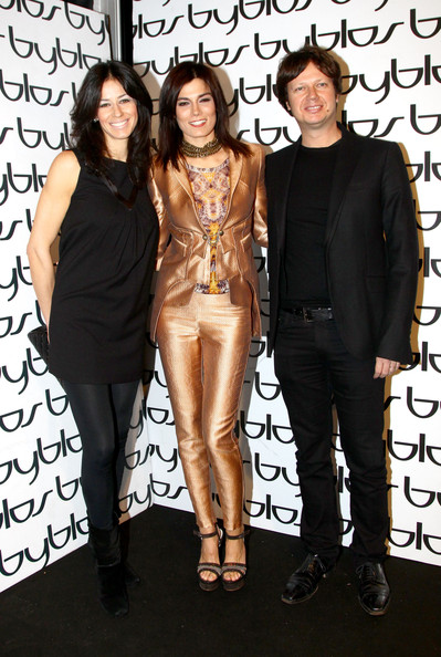 Byblos - Backstage & Front Row: Milan Fashion Week Womenswear Autumn/Winter 2011