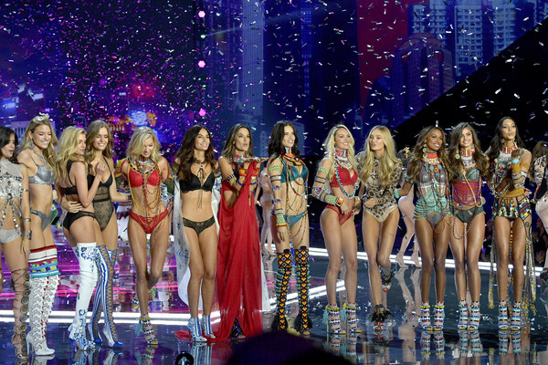 2017 Victoria's Secret Fashion Show in Shanghai - Show [performance,fashion,event,performing arts,dancer,fashion model,performance art,fashion show,stage,musical,models,martha hunt,sara sampaio,alessandra ambrosio,adriana lima,candice swanepoel,l-r,shanghai,victorias secret fashion show,shanghai - show]