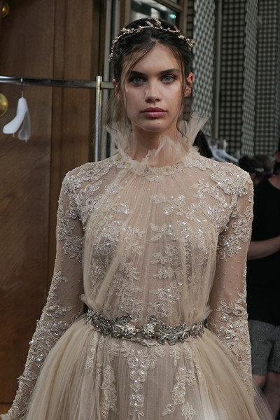 sara sampaio photos photos zuhair murad backstage