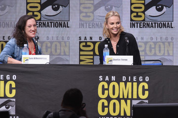 Sara Vilkomerson Comic-Con International 2017 - Entertainment Weekly's Women Who Kick Ass: Icon Edition With Charlize Theron