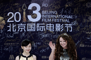 Sarah Brightman Arrivals at the Beijing International Film Festival