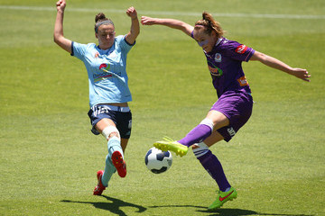 Sarah Carroll Perth v Sydney FC - W-League Semi Final