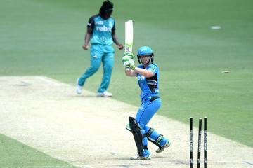 Sarah Coyte WBBL - Strikers v Heat