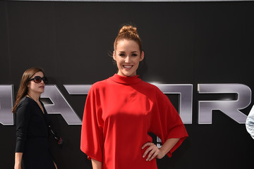 Sarah Dumont Celebs Arrive at the Premiere of Paramount Pictures' 'Terminator Genisys'
