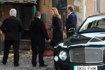 Sarah Ferguson Funeral Held for Peaches Geldof — Part 4