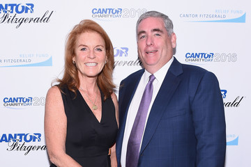 Sarah Ferguson Annual Charity Day Hosted By Cantor Fitzgerald, BGC and GFI - Cantor Fitzgerald Office - Inside