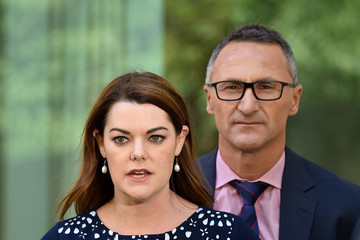 Sarah Hanson-Young Richard Di Natale Deputy Prime Minister Barnaby Joyce Faces Scrutiny in Parliament