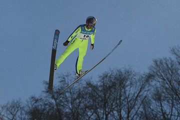 Sarah Hendrickson FIS Ski Jumping Women's World Cup Zao - Day 1