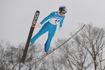 Sarah Hendrickson FIS Ski Jumping World Cup Ladies 2017 In Zao - Day 2
