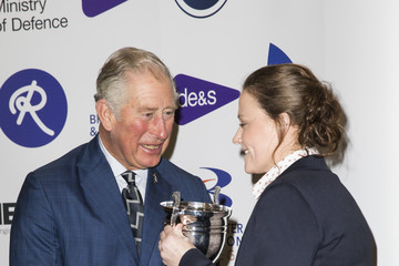 Sarah Hughes The Prince of Wales Attends the MOD Apprenticeship Awards