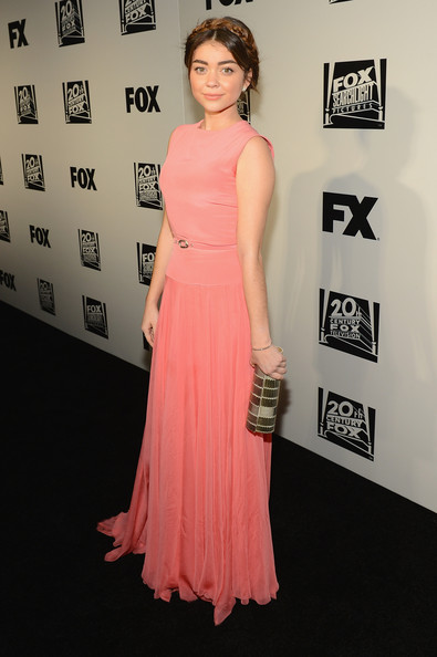 Sarah Hyland - Arrivals at Fox and FX's Golden Globes Afterparty