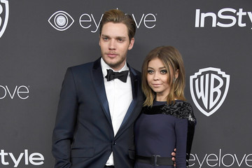 Sarah Hyland Dominic Sherwood Warner Bros. Pictures and InStyle Host 18th Annual Post-Golden Globes Party - Arrivals